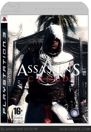 Bd Ps3 2nd Assasins Creed 3 assassin s creed playstation 3 box cover by sebbo1995