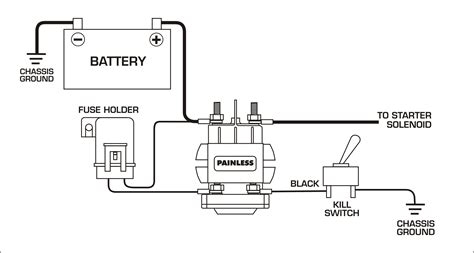battery disconnect switch wiring diagram battery free