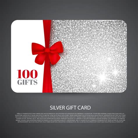 Template For Gift Cards - free gift card design template