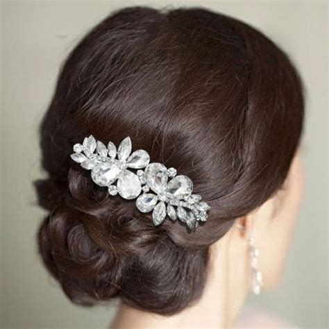 flower design hair flower design hair comb for wedding brides bridesmaids