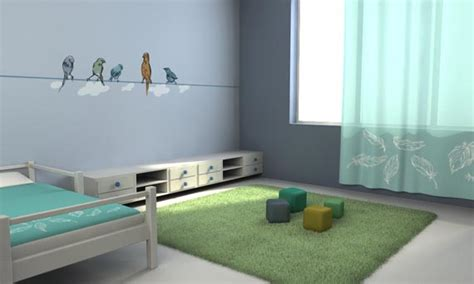 bird themed bedroom wall sticker ideas with bird theme interior design ideas