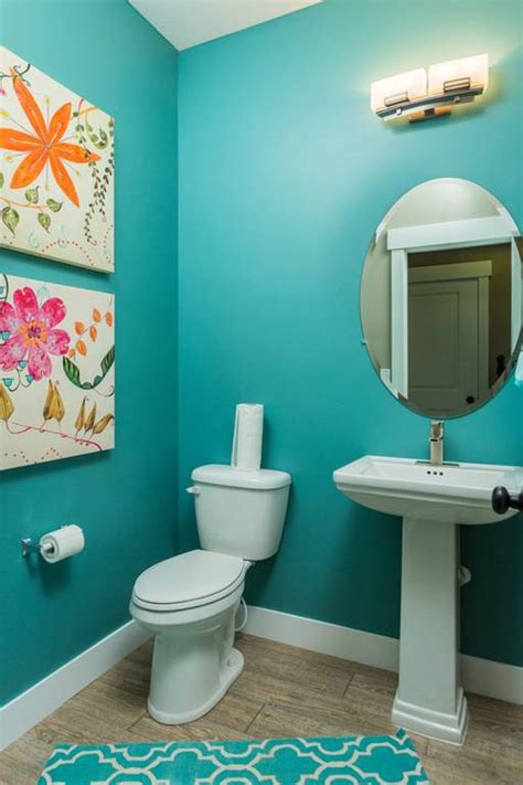 Turquoise Bathroom Ideas by 18 Turquoise Bathroom Designs Decorating Ideas Design