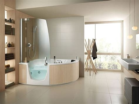 Combined Bath And Shower Units 383 bathtub and shower combination by lenci design