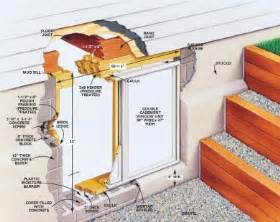 how to install a basement window requirements for basement egress windows