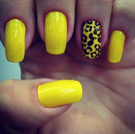 nails designs yellow acrylic and white cool yellow acrylic nail design ideas