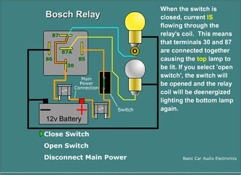 ac relay switch wiring wiring diagram with description