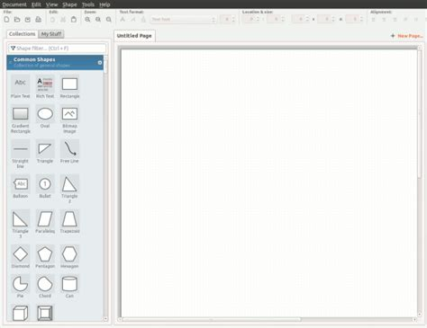 evolus pencil a great microsoft visio alternative for linux