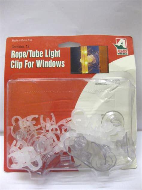 plastic christmas light clips 24 x tube light clip for windows christmas disco