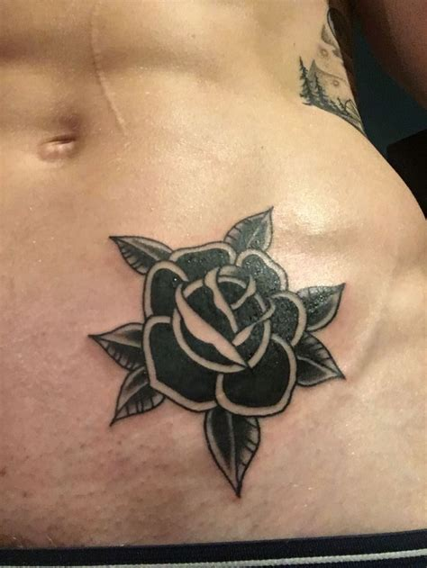 rose tattoo on the side 17 best ideas about black tattoos on