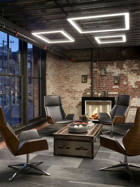 office room interior design best 25 industrial office design ideas on