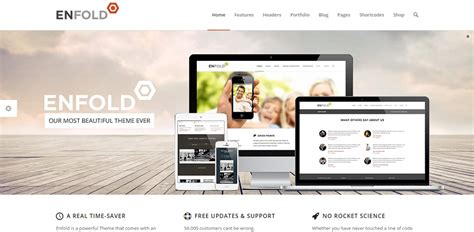 enfold theme fonts 30 stunning premium parallax wordpress themes idevie