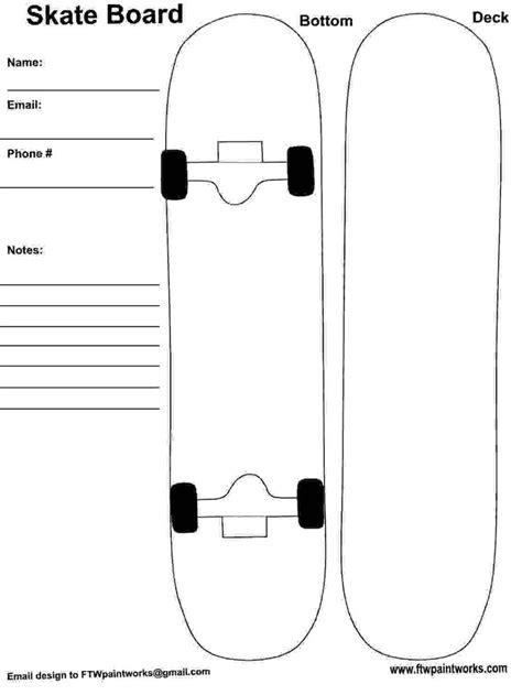 Skateboard Design Vorlagen 79 besten applikationen bilder auf