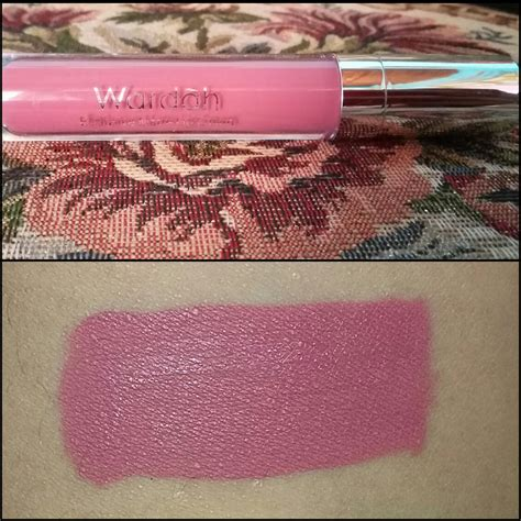 Harga Wardah Lip Di Counter review wardah exclusive matte lip no 09 vs