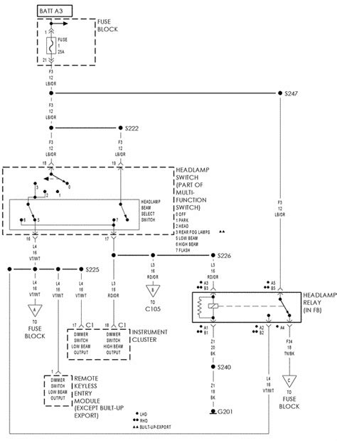 pt cruiser wiring diagram pt cruiser alternator wiring diagram get free image