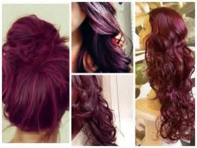 colors to dye brown hair burgundy hair color ideas hair world magazine