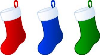 cartoon christmas stockings cliparts