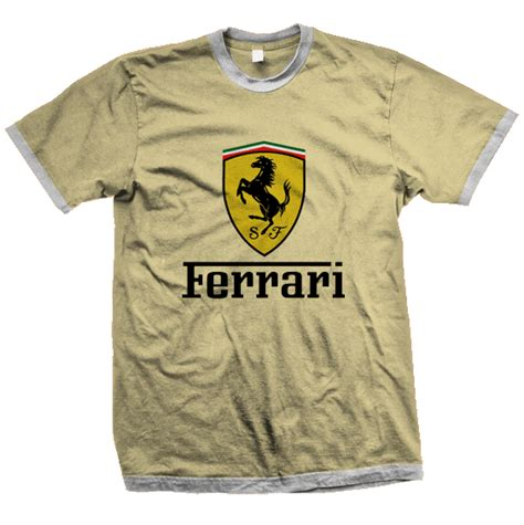 Tshirt Kaos Ferari collections t shirts design
