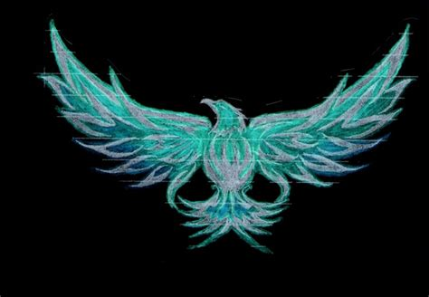 blue flame eagle by xxfreexxlancerxx on deviantart
