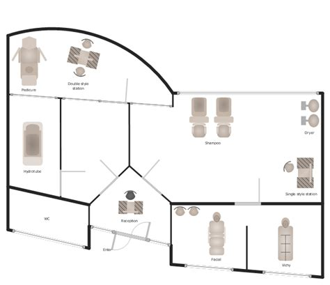 day spa floor plan day spa equipment layout plan