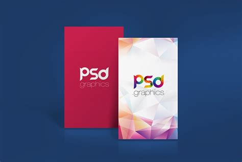 business card photoshop creative 0005 template vertical business card mockup free psd psd graphics