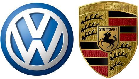 stuttgart car logo porsche and volkswagen integrated automotive cartype