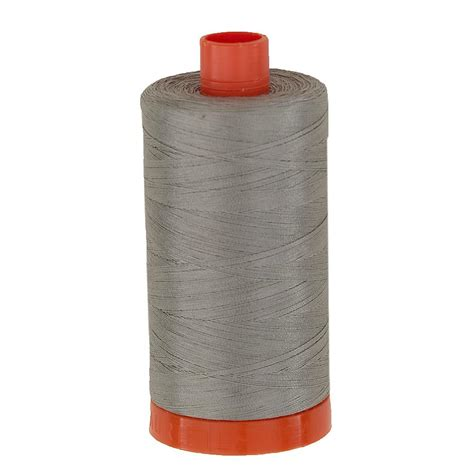 Best Thread For Quilting by Aurifil Quilting Thread 50wt Stainless Steel Discount Designer Fabric Fabric
