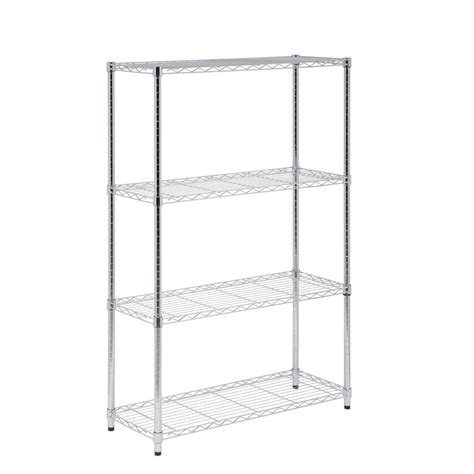 honey can do shelving honey can do 5 shelf 72 in h x 36 in w x 14 in d steel