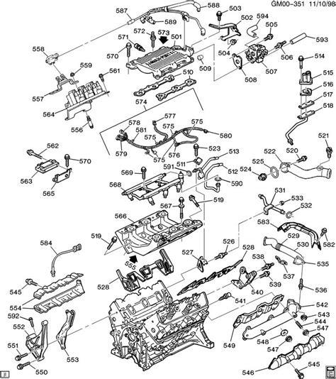 97 chevy engine diagram 3 1 liter 97 get free image