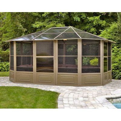 12 x 15 gazebo four seasons 12 x 15 outdoor patio screenhouse gazebo