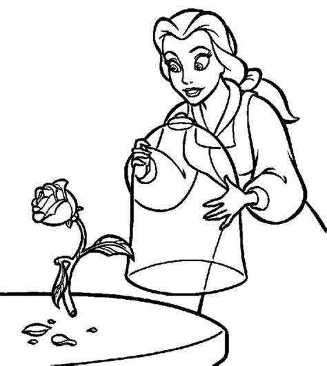coloring pages of disney princess belle princess belle coloring pages quot disney characters ideas