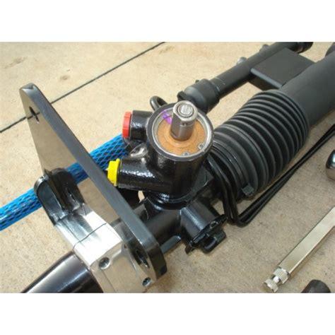 electric power steering 1967 pontiac firebird transmission control speed unisteer 8011170 01 firebird trans am 1975 81 power rack and pinion shop