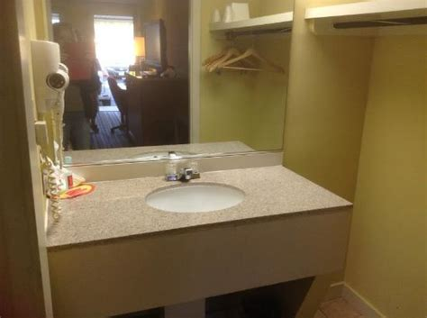 average bathroom sink size average size bathroom sink picture of econo lodge frederick tripadvisor
