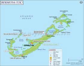 bermuda on map of united states bermuda map map of bermuda