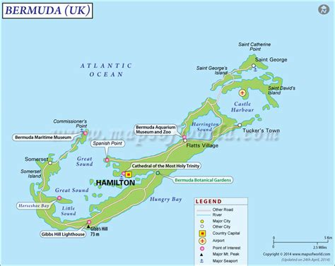 bermuda map bermuda map map of bermuda