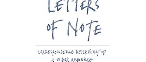 letters of note book review youtube