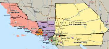 central district of california map central district of california united states bankruptcy