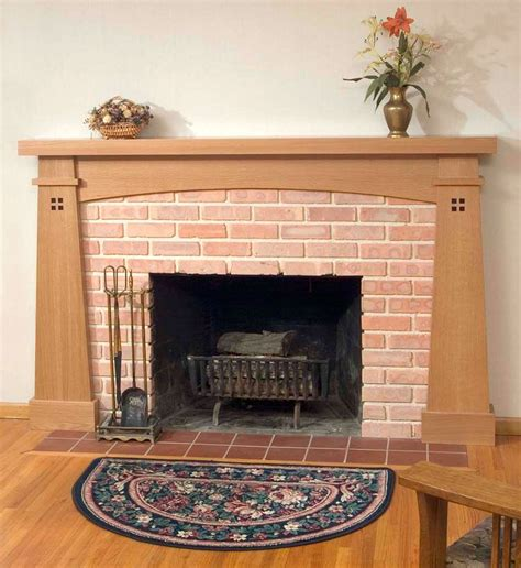 crafted fireplace mantles custom designed built by