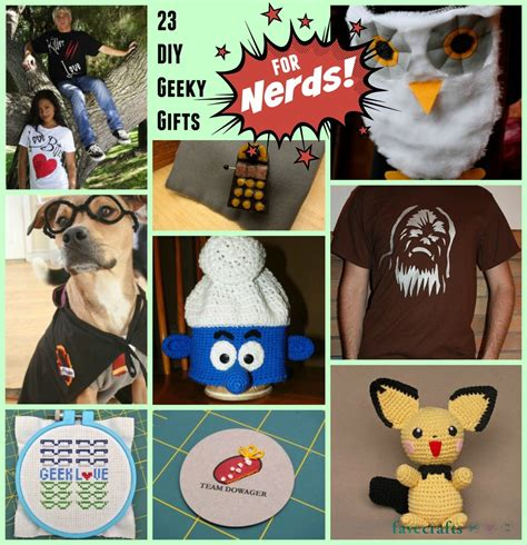 geeky s gifts 23 diy geeky gifts for nerds favecrafts