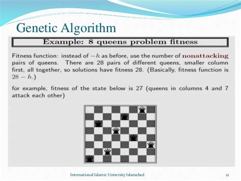 pattern recognition using genetic algorithm modified genetic algorithm for solving n queens problem