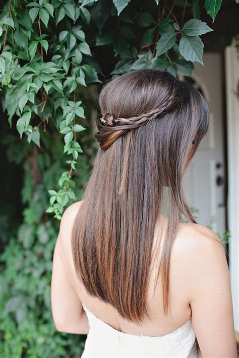 bridesmaid hairstyles down straight wedding hairstyles 13 dreamy ways to wear your hair down