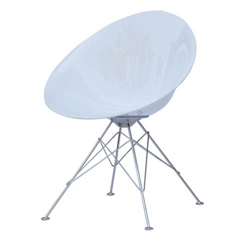 Eco Dining Chairs Eco Wirebase Dining Chair White Modern In Designs