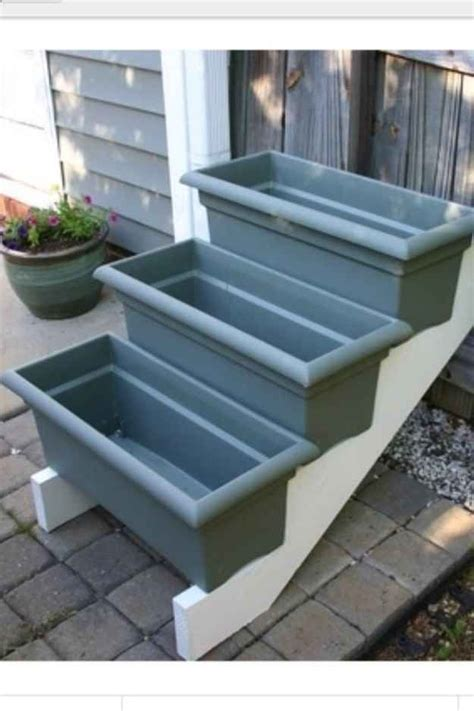 cheap window box planters diy planter box ideas woodworking projects plans