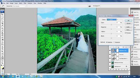 cara edit foto pre wedding photoshop cs3 10 menit bisa edit foto pre wedding youtube