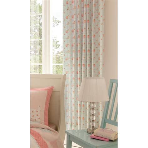 scottie dog curtains catherine lansfield scottie dog pink and blue gingham tab