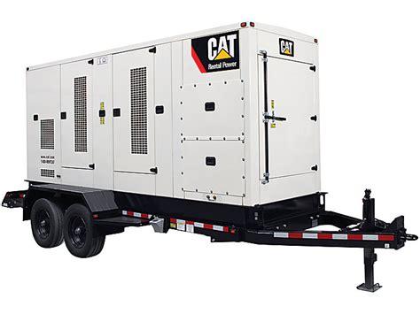 mobile generator cat mobile generator sets caterpillar