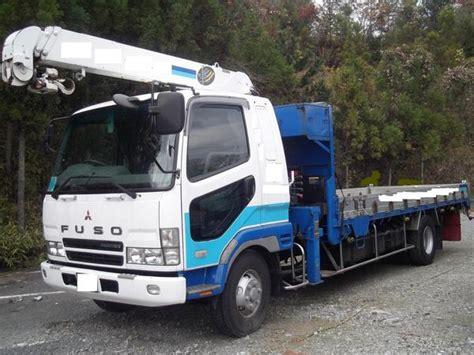 Mitsubishi Truck Sales Fk71 1990 Mitsubishi Fuso Fighter Fk415 Fk517 Crane Truck