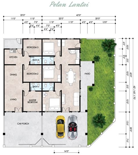 Best Single Story House Plans Phase 6 Single Storey Terrace House For Sale Ipoh Namcom