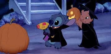funny lilo and stitch my gifs film disney movie cartoon halloween animated lilo stitch animated