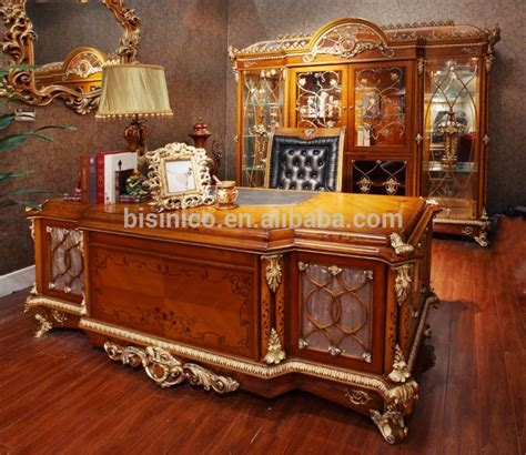luxury home office desks baroque style luxury executive office desk