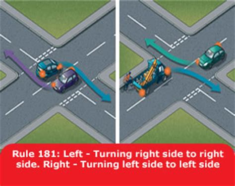 st on left or right using the road 159 to 203 the annotated highway code